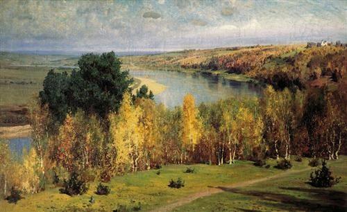 Золотая осень - Василий Поленов