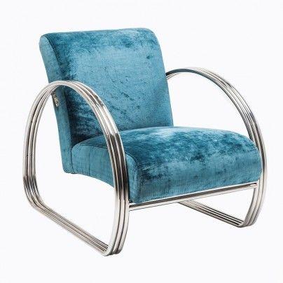 Nydelig lenestol i en vakker blåtone, passer perfekt til høstens fargepalett! kan kjøpes på www.bodesign.no Fri frakt!