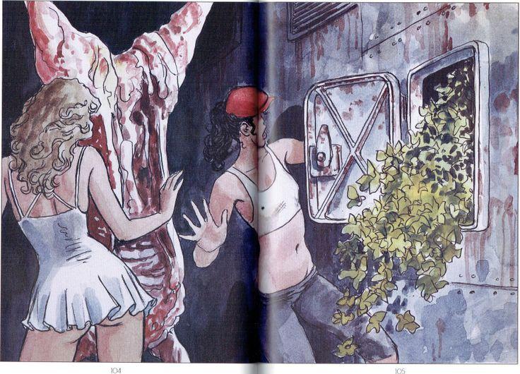 Manara Maestro dell'Eros-Vol. 23, Manara e il teatro-104, 105