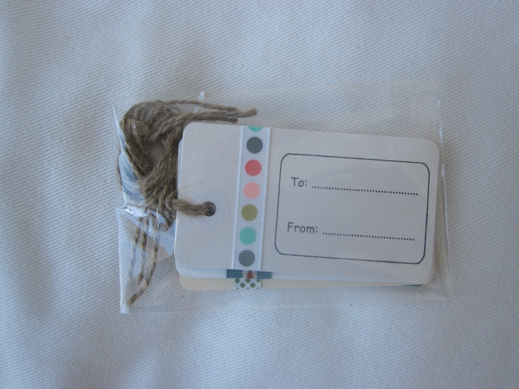 Gift tags (pack of 5)