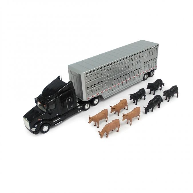 1:32 Peterbilt Model 579 with Cattle Trailer