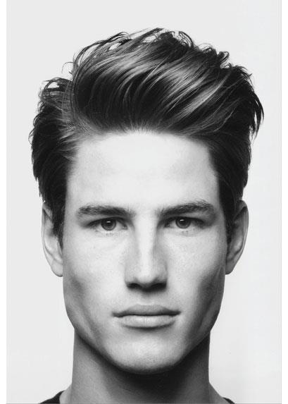Men hairstyle:Longer on top