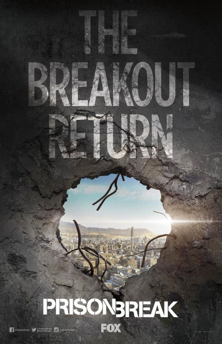 Prison Break Season 5! 2017 can't come soon enough! Just rewatched all the old seasons!