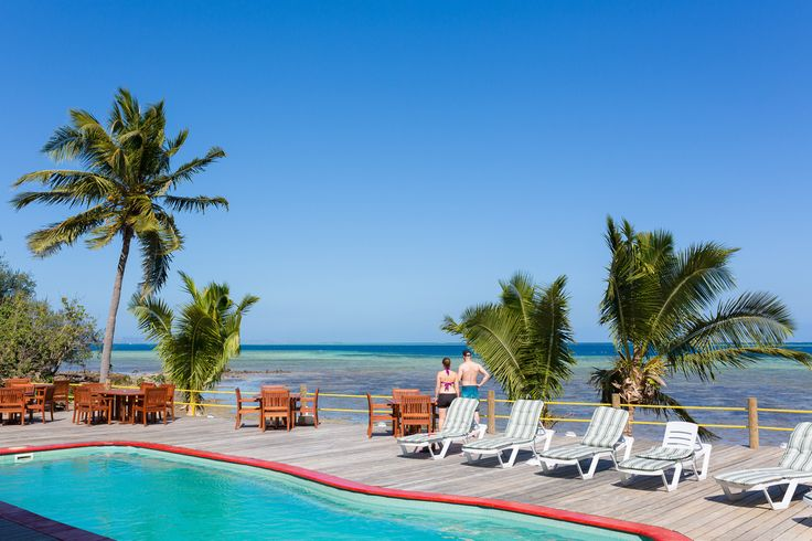 "Definitely there's so much to ""SEA"" from our sun-deck! beautiful ocean and island views, sunny days, relaxing atmosphere and the friendliest staff to look after you! http://www.funkyfishresort.com/"