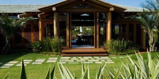 casa de madeira moderna
