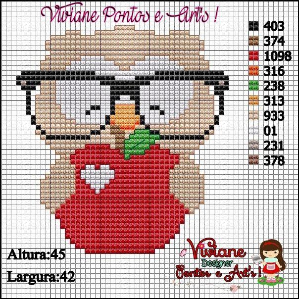 Viviane Pontos e Art's: Graficos