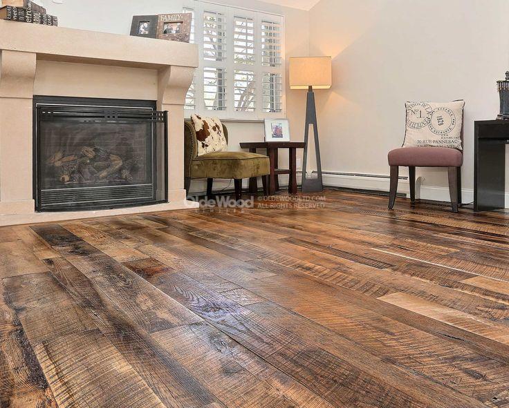 Reclaimed Original Face Oak Flooring | Unfinished Oak ...