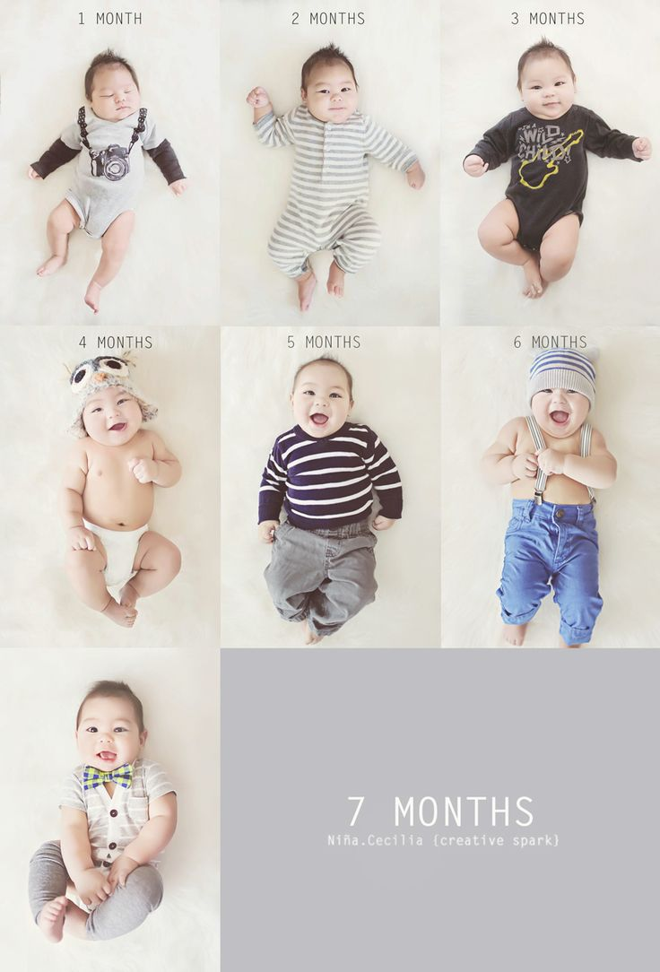 7 months monthly growth pictures, what to wear, photography, children