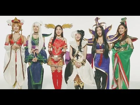 T-ara Show off their Unique Costumes for Dream of the Three Kingdom's Pr...