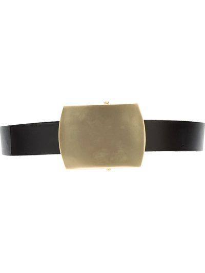 CALVIN KLEIN COLLECTION - buckle belt 4