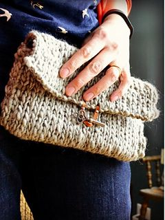 Loom Knit Clutch More
