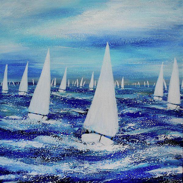 #Sailing Regatta by K McCoy