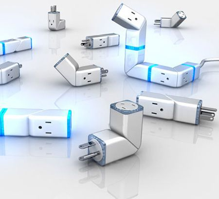 E-Rope Power Strip  add or subtract sockets as needed