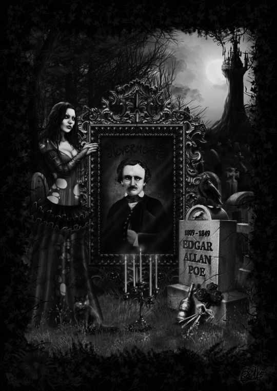 a glimpse into the brilliant mind of edgar allan poe Words to describe edgar allen poe hoaxter, liar, impostor, and plagiarizer (45) are words kaplan used to describe edgar allan poe poe as he claimed to be, was the best when it came to deception and perversion.