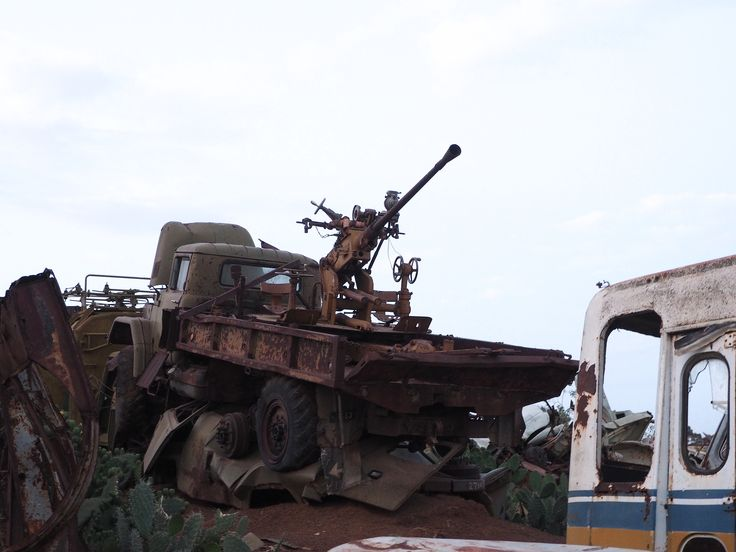 "https://flic.kr/p/NTZxVR | The ""Tank Graveyard"" Asmara, Eritrea 