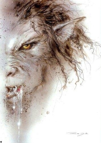 Werewolf by Luis Royo