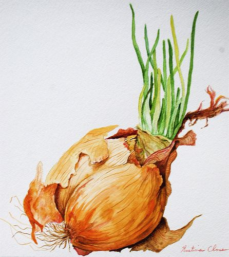 "Original watercolor painting by Kristina Closs Size: 10""x11"" Medium: watercolor on paper"