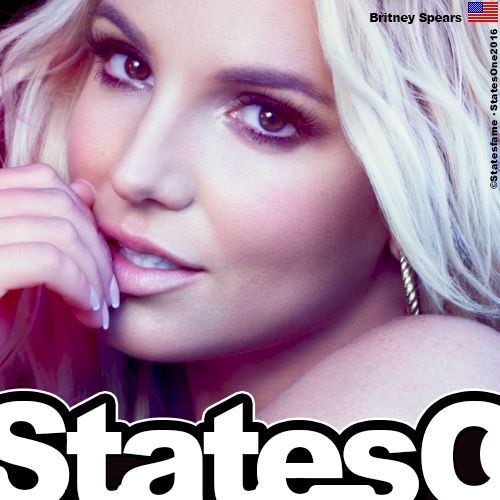 Britney Spears 🎤 Statesfame©. Celebrating Icon's 25 Candles on 02 DEC 2016. Print Only. Sale Forbidden.