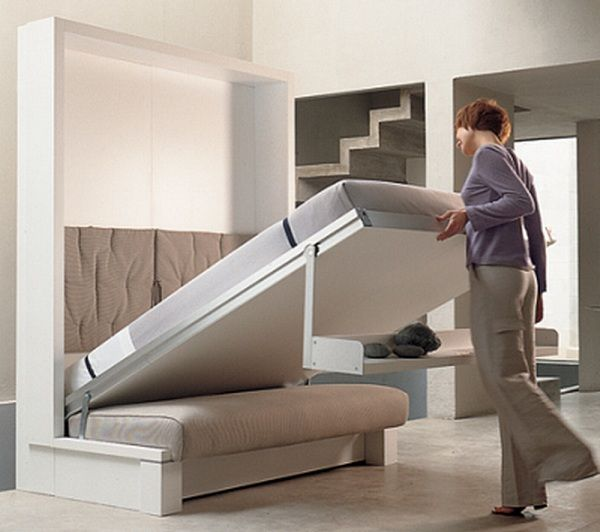 Charming Furniture For Small Places Part - 5: Best 25+ Furniture For Small Spaces Ideas On Pinterest | Small Spaces,  Desks For Small Spaces And Small Space Living