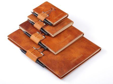 Karteikarten, Lernkarten, Karteikartenbox, Karteikartenkasten, Lernkartei A8, A6, A7, A5, Leder, hier: 3