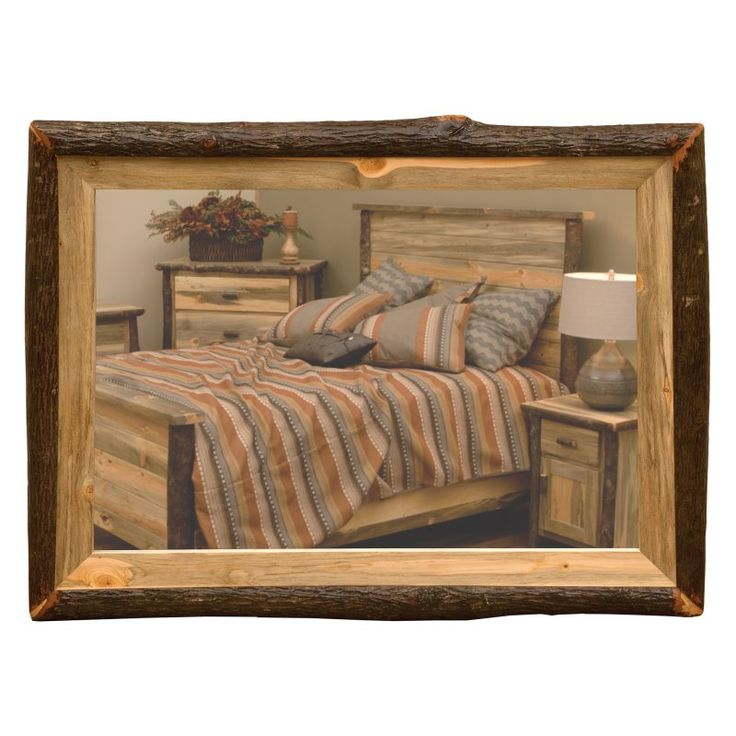 Fireside Lodge Furniture Glacier Mirror   K12901 G
