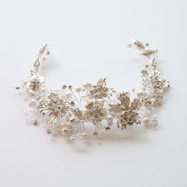Beauty Potentilla Hair Crown