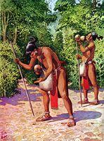 Agricultores mayas