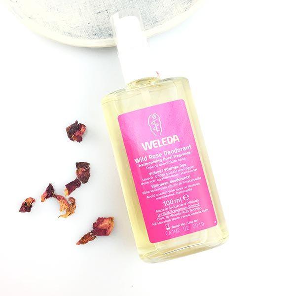 Weleda Wild Rose Natural Deodorant   Riatta Australia