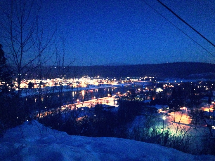Small town city of Quesnel. photo taken by Iyshia Brenner