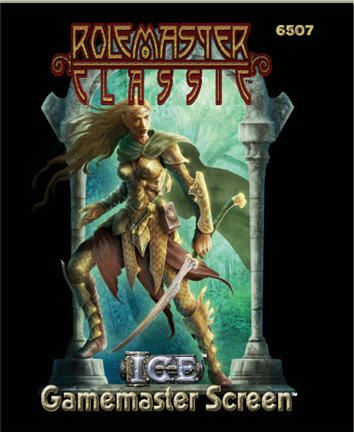 Product Line: Rolemaster  Product Edition: RMC  Product Name: Gamemaster Screen  Product Type:   Author: ICE  Stock #: 6507  ISBN: 1-55806-631-4  Publisher: ICE  Cover Price: $20.00  Page Count:   Format: Softcover  Release Date: 13-Feb-09  Language: