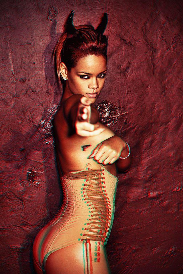 Sexy Devil Rihanna iPhone Wallpaper | Rihanna Chrome ...