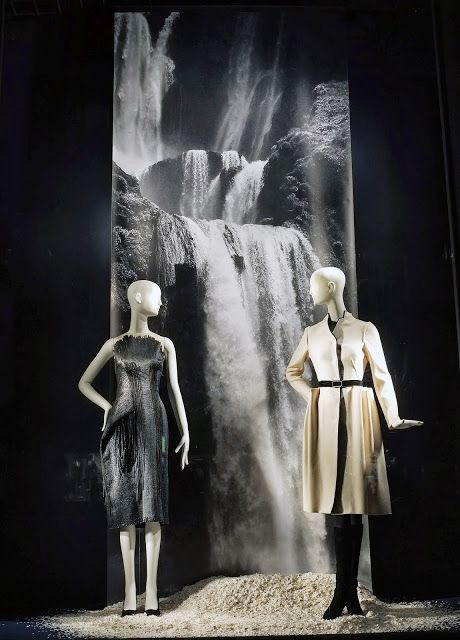 """sometimes it takes a waterfall to evoke empathy and emotion"", pinned by Ton van der Veer"