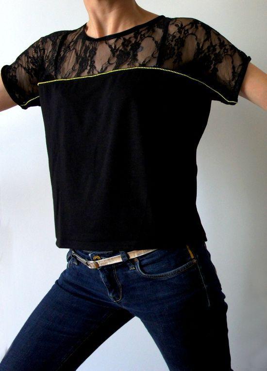 Une belle interprétation du Aime comme Minute, avec l'ajout d'une goutte dans le dos, bordée de biais satin - Par Culture couture