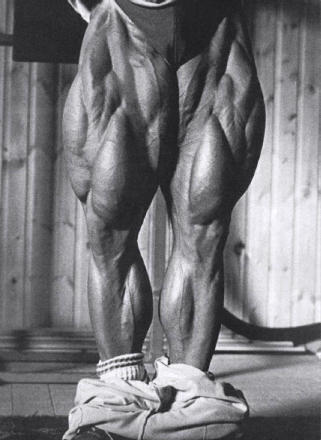 Tom Platz, the beginning of great big ass legs
