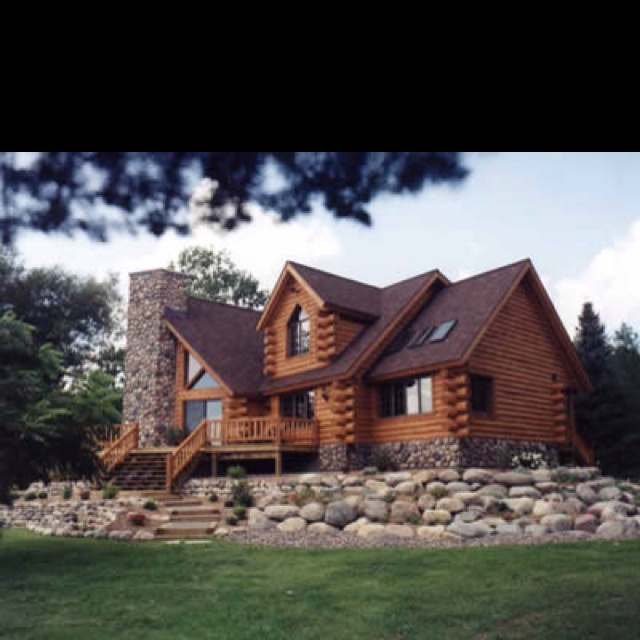 2332 best cabin in the woods images on pinterest log cabins wood houses and cottages - The wood cabin on the rocks ...