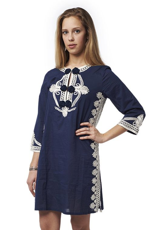 lovely #embroidered #tunicdress  email for inquires!