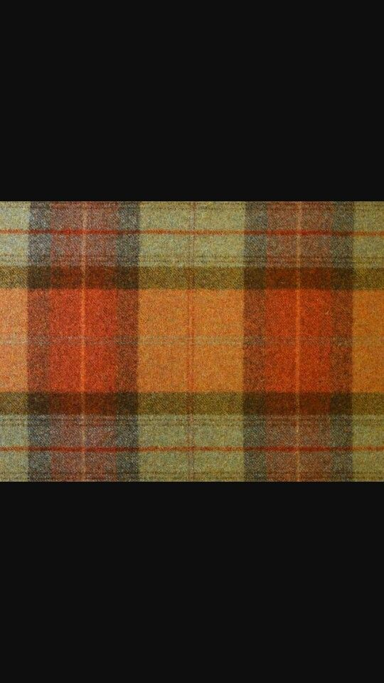 Burnt Orange Tartan Curtains Diy Blinds Roller Blinds