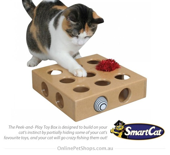 Peek and Play Toy Box