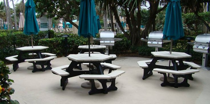 Marriott has been a great client for years, especially where there properties worldwide have issues with salty, wet environments that destroy wood, metal, and concrete. Our line of commercial grade recycled plastic outdoor furniture is perfect for them and with a 25 year warranty.....there bottom line as well! American Recycled Plastic is a family business since 1998. We love recycling plastics, really cool patio furniture and our Basset Hound Mascots. #benches #outdoorfurniture…