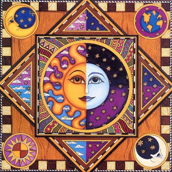 Дэн Моррис: лунно-солнечное творчество. Прекрасный материал для декупажа. Обсуждение на LiveInternet - Российский Сервис Онлайн-Дневников