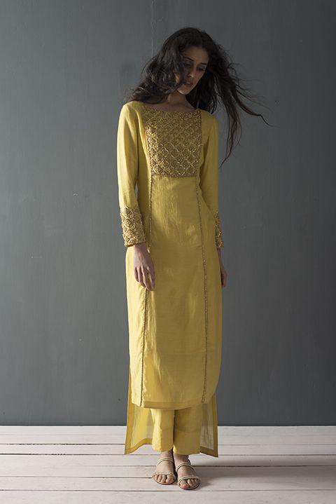Yellow Dress & Pants — WaliaJones