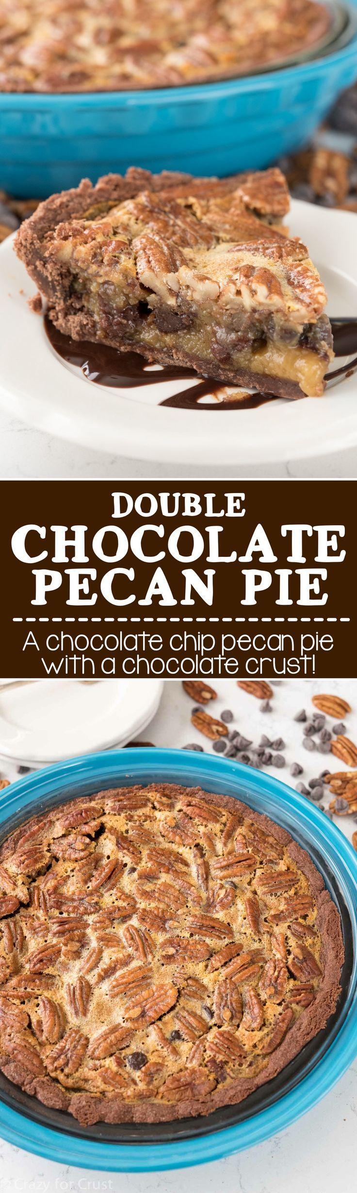 ... Chocolate Chip Pecan Pie on Pinterest | Pecan Pies, Pecan Pie Bars and