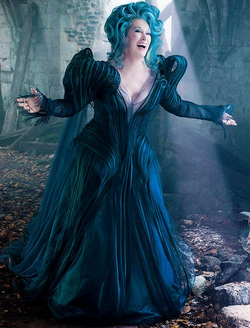 meryl-streep:  Meryl Streep as The Witch in Into the Woods.