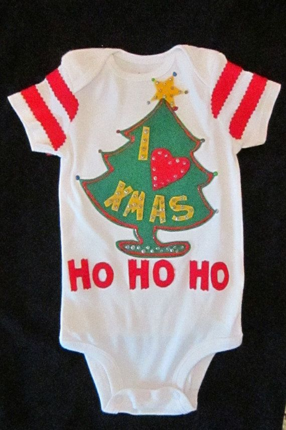 Grinch Baby Costume Baby Grinch Onesie Ugly Christmas Sweater Party