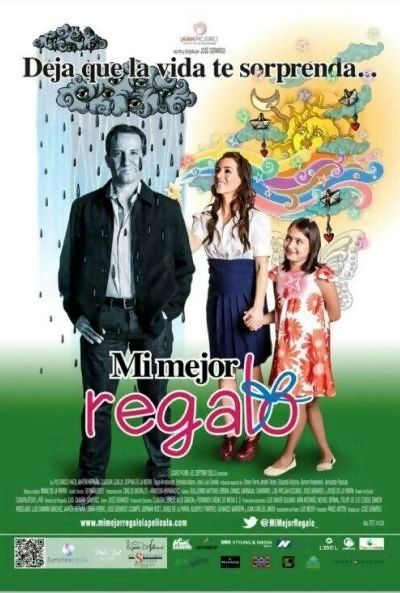 Mi Mejor Regalo is a 2013 Mexican family-drama film written and directed by José Gerardo and starring Plutarco Haza, Claudia Lizaldi, Aarón Hernán and Sophia de la Mora. Plot: Daniel's life is about to be taken in a new direction. After sulking for several years after a break up from the woman of his dreams, Daniel is told he has an 8 year old daughter. She persists in seeking him out and insists they get to know each other. His world is about to change dramatically.