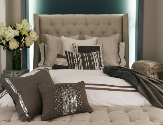 luxury bedding by ankasa love the bed bench and sparkly pillows