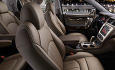 2015 INTERIOR: The 2015 Acadia Denali interior takes the accommodating space and functionality of this segment-defining premium crossover to a whole new level of sty with authentic materials and luxury appointments. Experience the luxury of comfort, control and style in a new 2015 Acadia Denali!