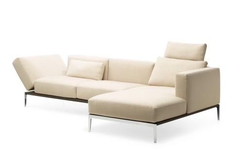 Intertime: Piu corner sofa