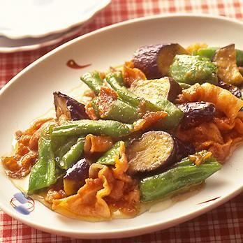 ピーマンとなすのみそ炒め   葛西麗子さんの炒めものの料理レシピ   プロの簡単料理レシピはレタスクラブニュース