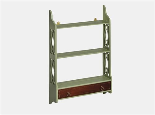 Lounge Hanging Shelf Small - Green, Measurements 780 x 170 x 900